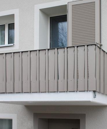 Gebäudehüllensanierung Mehrfamilienhaus